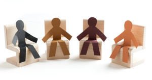 group-paper-people